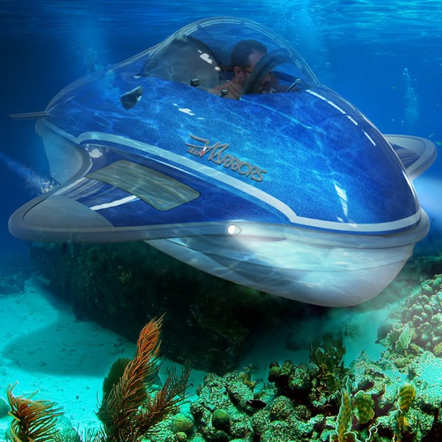Il sommergibile SeaWarriors