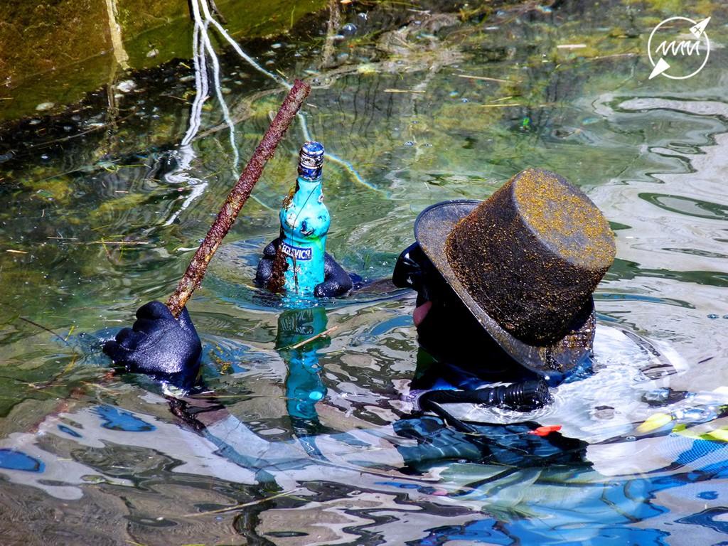 Pulizia dei Fondali Mare Nordest 2014: vodka e cappello