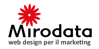 Mirodata web design per il marketing
