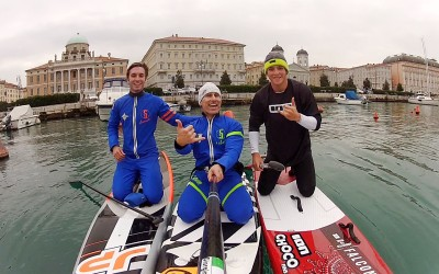 Mare Nordest si arricchisce di una nuova disciplina, il SUP, ospitando la terza Tappa di Coppa Italia Fisurf