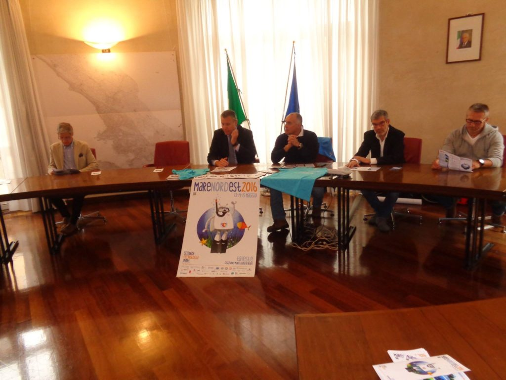 11 maggio 2016 Conferenza stampa di presentazione di Mare Nordest 2016