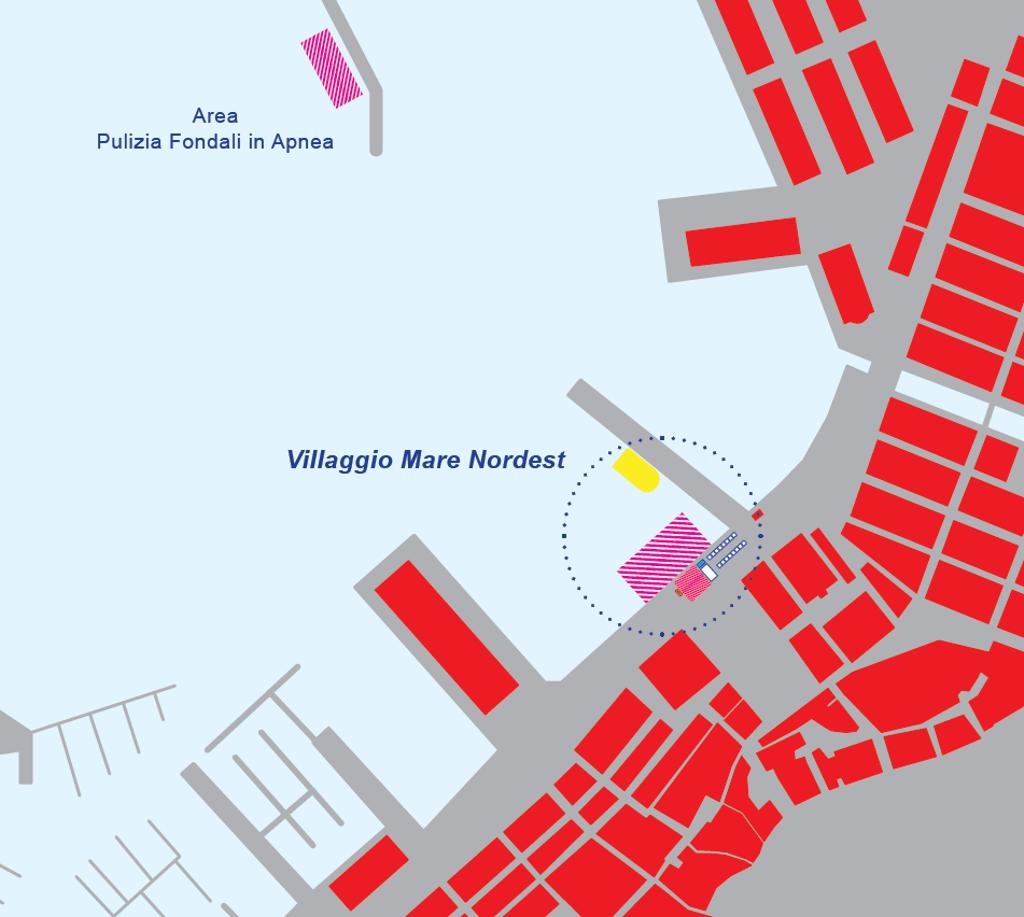 Mappa Villaggio Mare Nordest