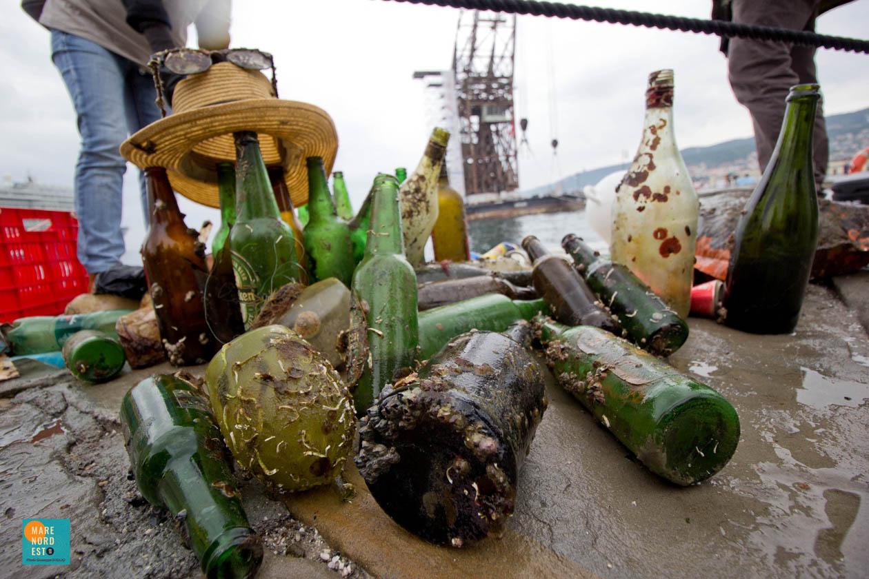Giuseppe D'Iglio per Mare Nordest 2019 - pulizia dei fondali